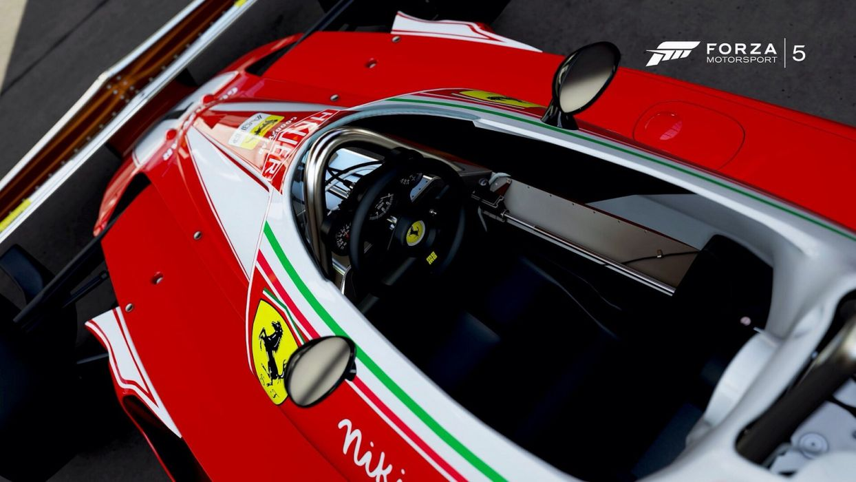 cars Ferrari forza motorsport 5 videogames wallpaper