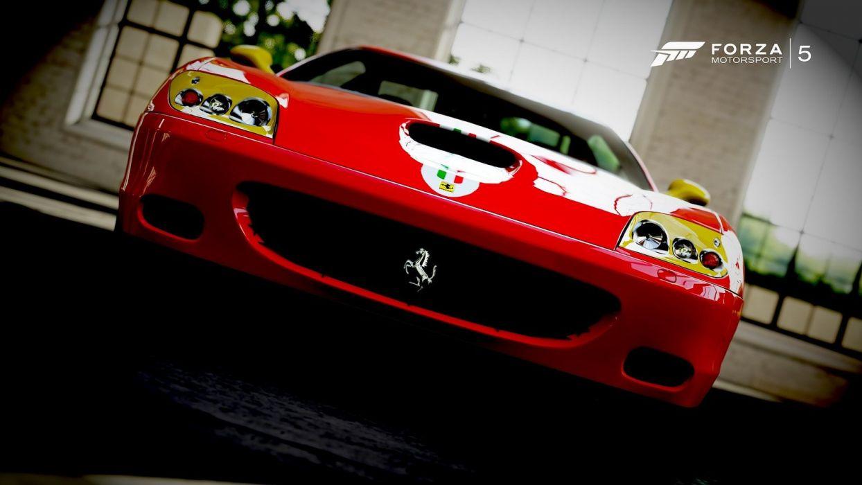 cars Ferrari forza motorsport 5 videogames wallpaper