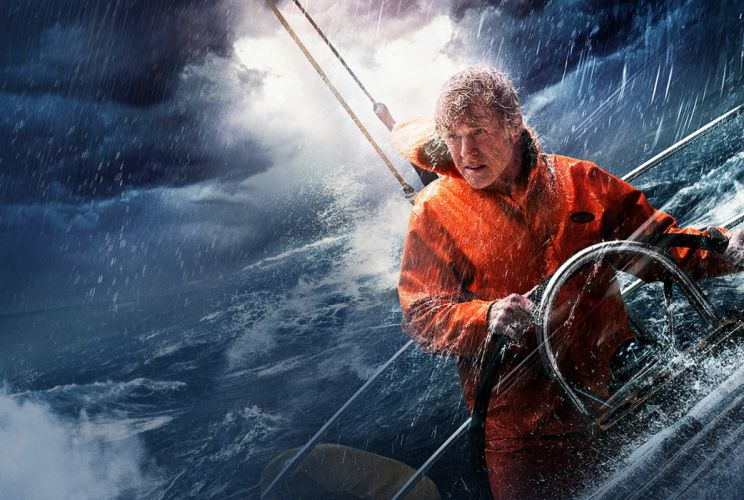 robertredford redford allislost lost movie sailingship ocean disaster wallpaper