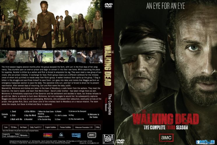 THE WALKING DEAD dark horror zombie series apocalyptic drama thriller wallpaper