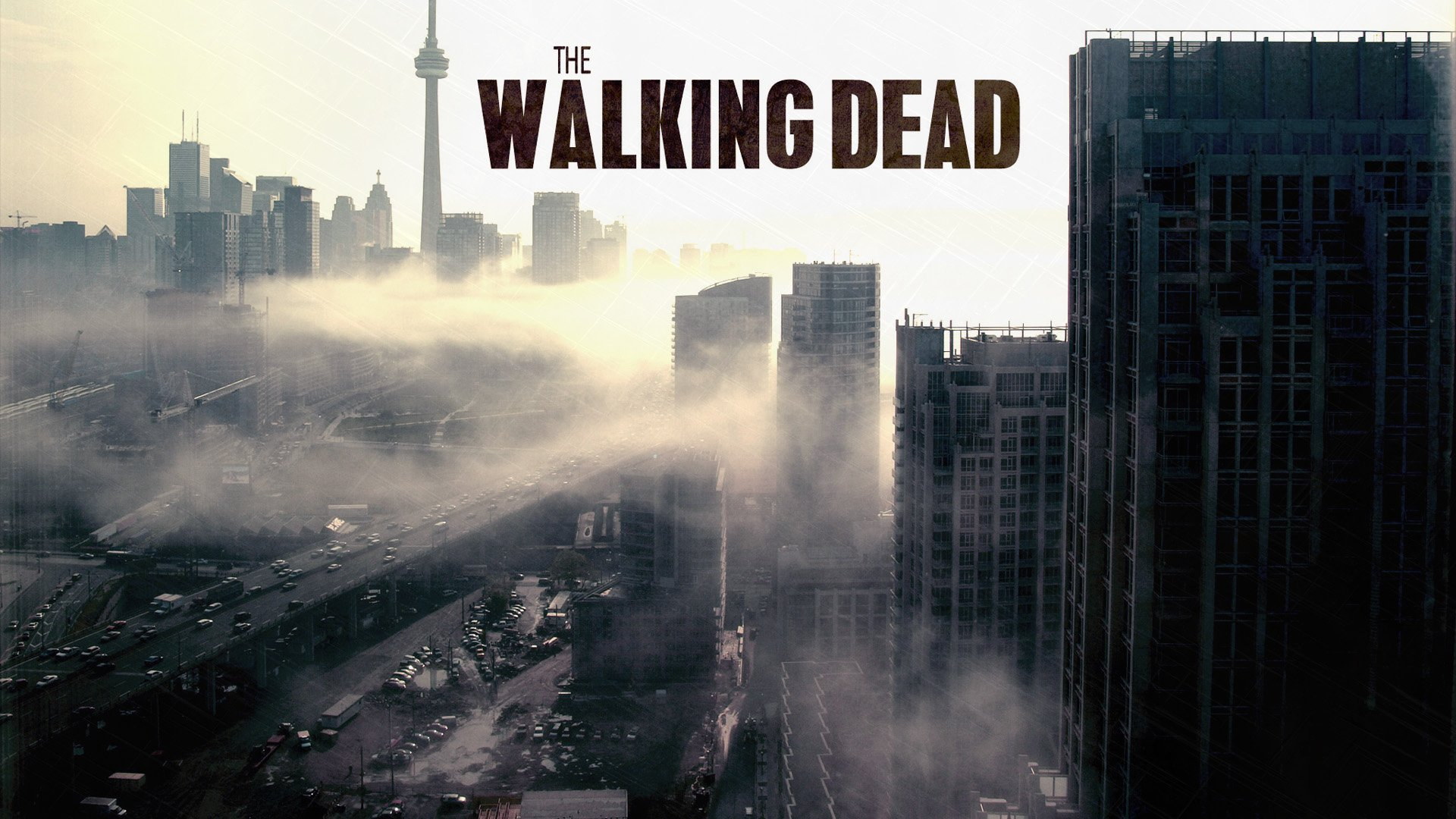 THE WALKING DEAD Dark Horror Zombie Series Apocalyptic