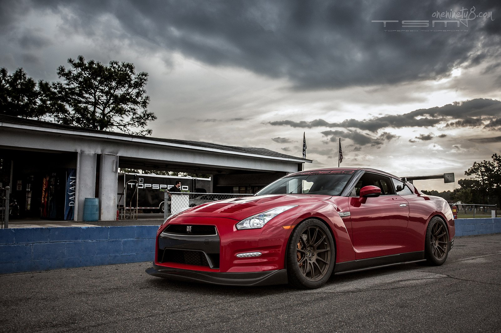 GT-R nismo Nissan R35 TUNING Supercar coupe japan cars red