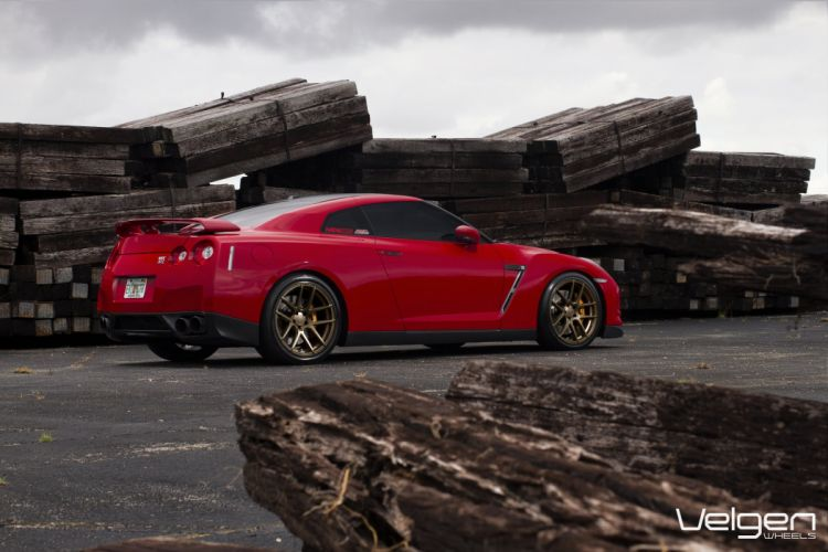 GT-R nismo Nissan R35 TUNING Supercar coupe japan cars red rouge rosso wallpaper