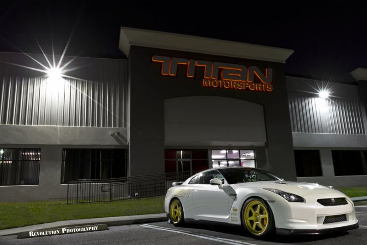 GT-R nismo Nissan R35 TUNING Supercar coupe japan cars blanc white bianco wallpaper