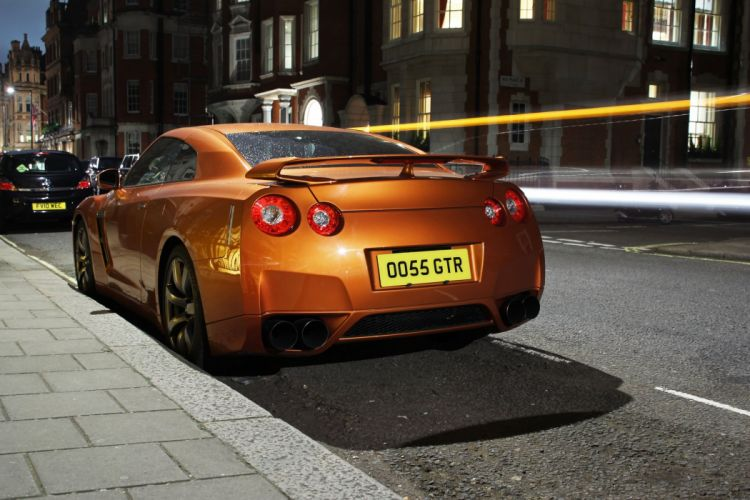 GT-R nismo Nissan R35 TUNING Supercar coupe japan cars orange wallpaper