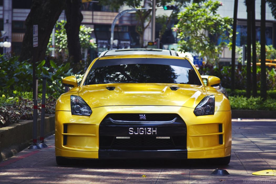 GT-R nismo Nissan R35 TUNING Supercar coupe japan cars wallpaper