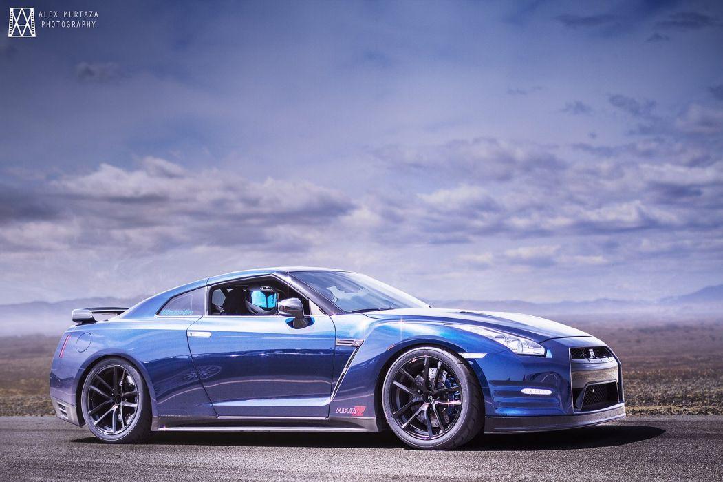 GT-R nismo Nissan R35 TUNING Supercar coupe japan cars blue bleu blu wallpaper