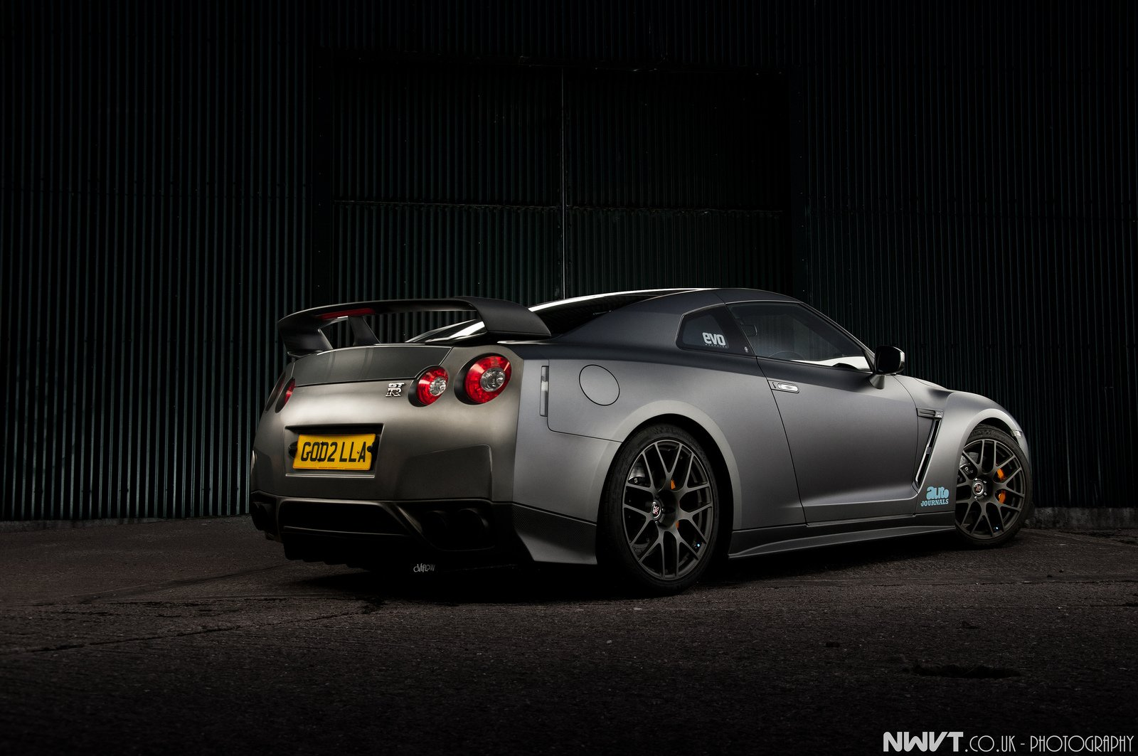 GT-R nismo Nissan R35 TUNING Supercar coupe japan gris ...