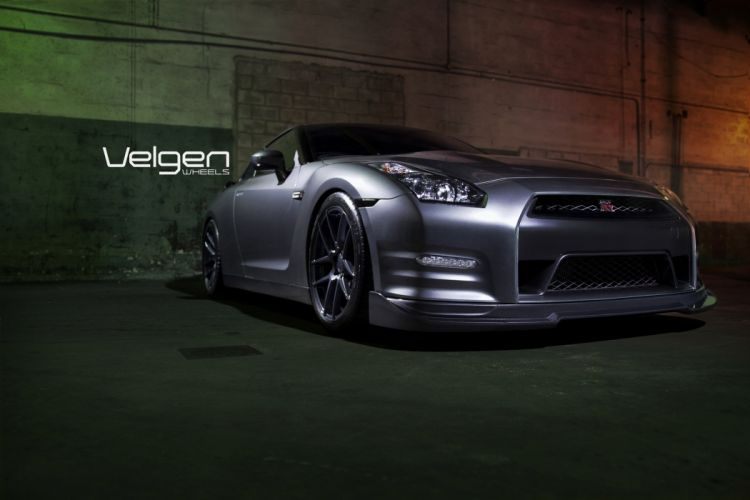 GT-R nismo Nissan R35 TUNING Supercar coupe japan gris grey wallpaper