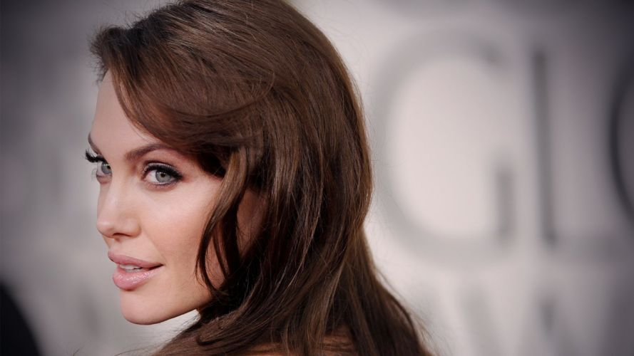 girl sexy beauty attractive lady lovely sweet angelina jolie brunette wallpaper