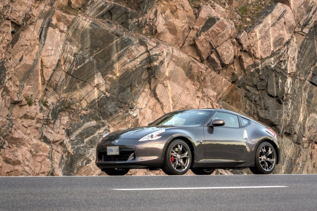Nissan 370z coupe tuning cars japan wallpaper