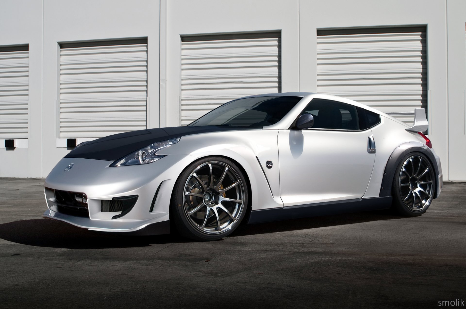 nissan 370z coupe tuning cars japan wallpaper 1920x1276. Black Bedroom Furniture Sets. Home Design Ideas