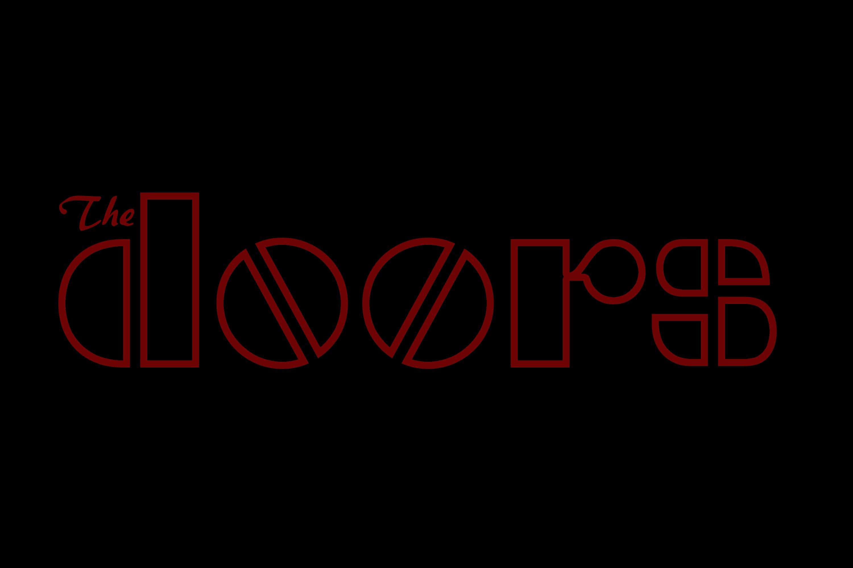 Doors Rock Music Jim Morrison Logo Wallpaper