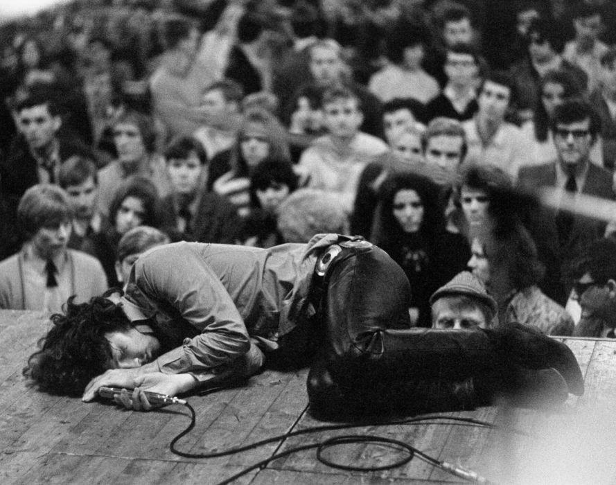 Doors Rock Music Jim Morrison Logo Concert Wallpaper