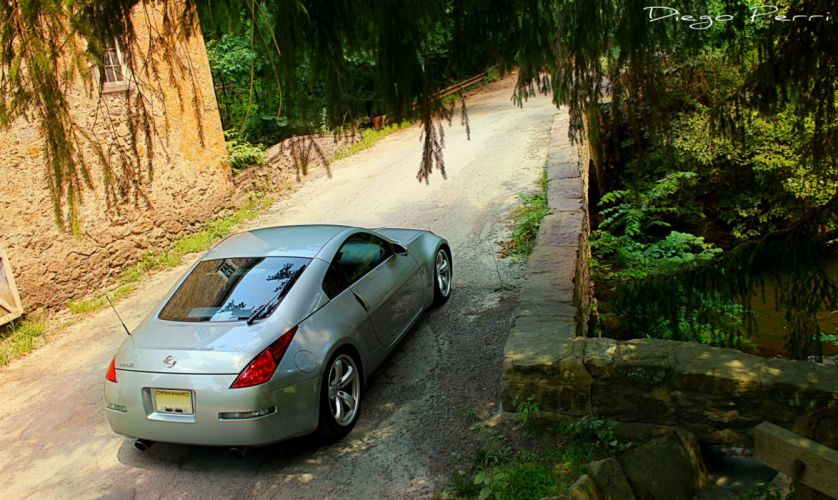 350z cars Coupe Japan Nissan Tuning wallpaper