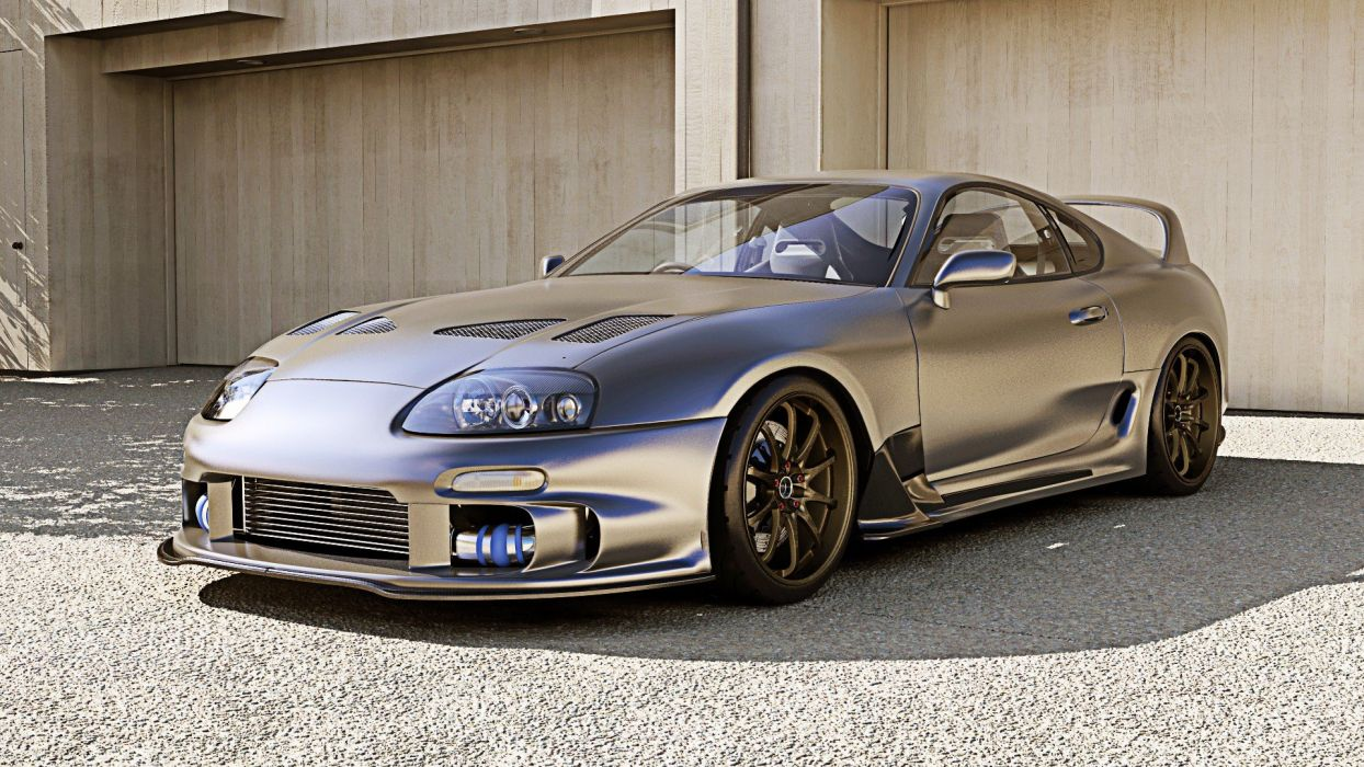 Toyota Supra Tuning Cars Coupe Japan Turbo Wallpaper 1920x1080