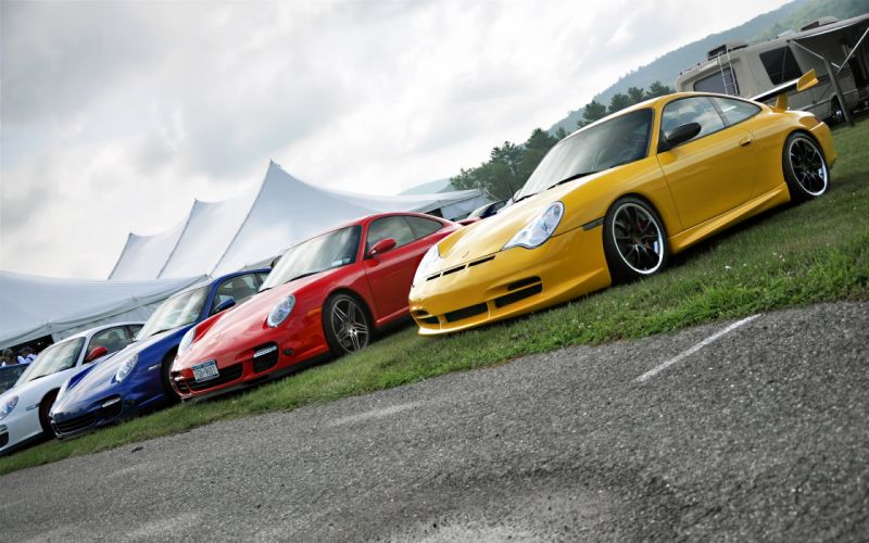 Porsche 997 Turbo 997 Turbo and 996 GT3 wallpaper