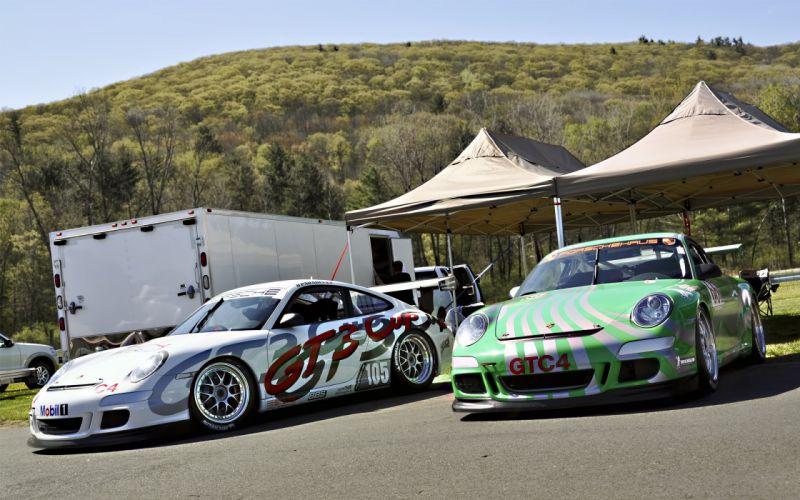 Porsche Cup GT3s wallpaper
