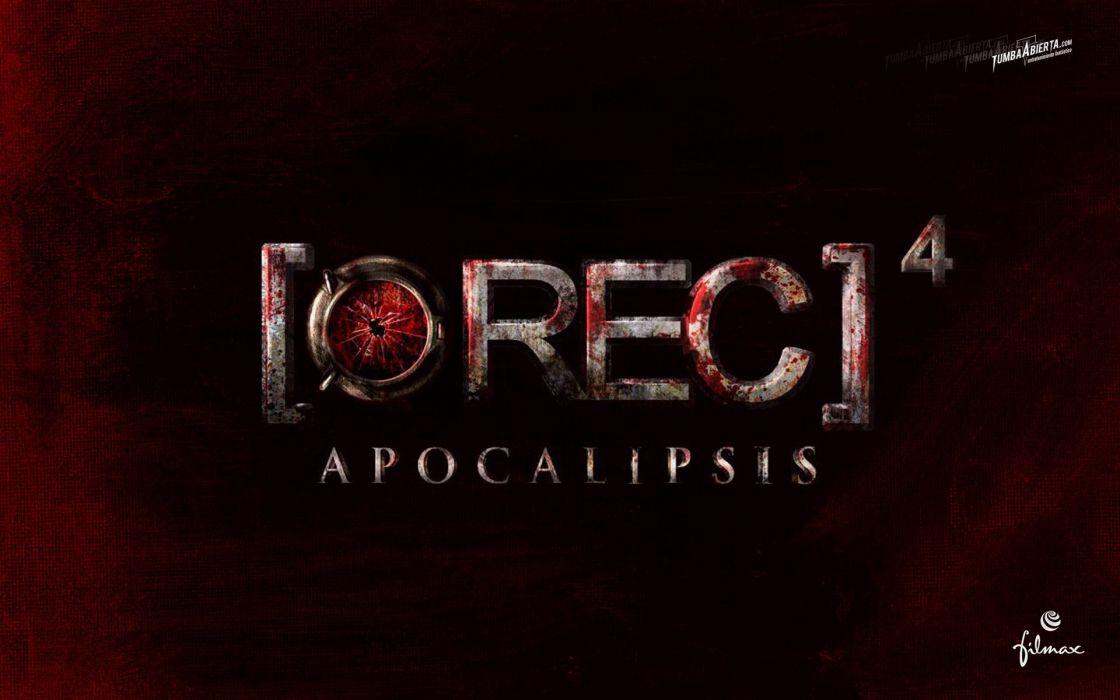 REC4 APOCALYPSE horror dark apocalyptic thriller rec sci-fi demon (10) wallpaper