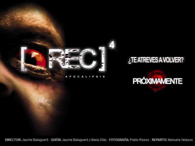 REC4 APOCALYPSE horror dark apocalyptic thriller rec sci-fi demon (23) wallpaper