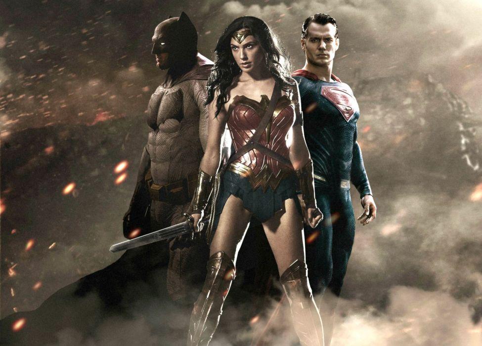 BATMAN-v-SUPERMAN adventure action batman superman dawn justice wonder wallpaper