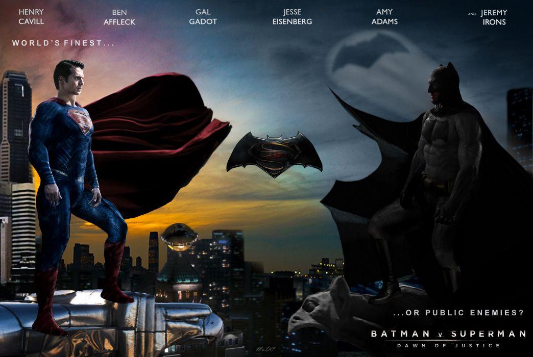 Batman v Superman Dawn of Justice wallpaper by ArkhamNatic ...
