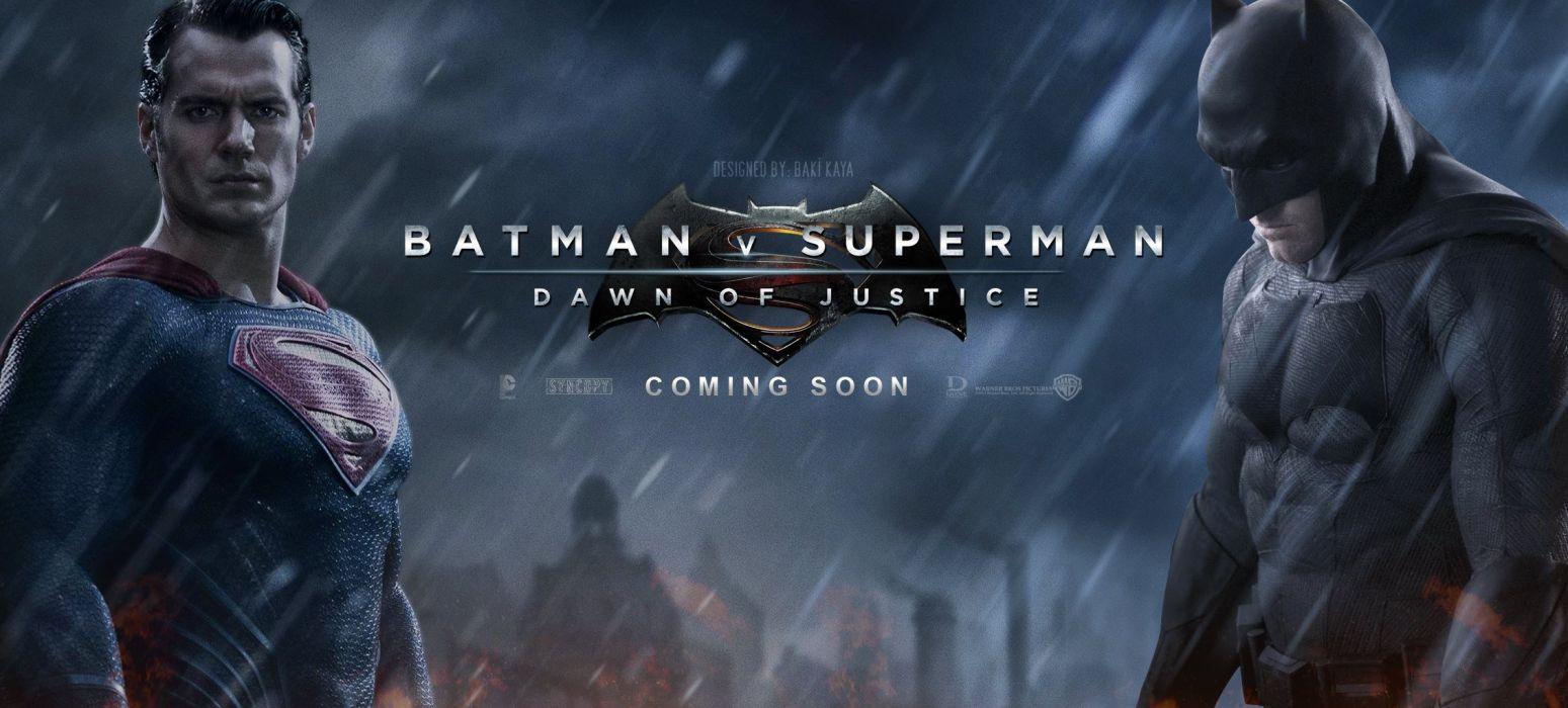 BATMAN-v-SUPERMAN adventure action batman superman dawn justice wallpaper