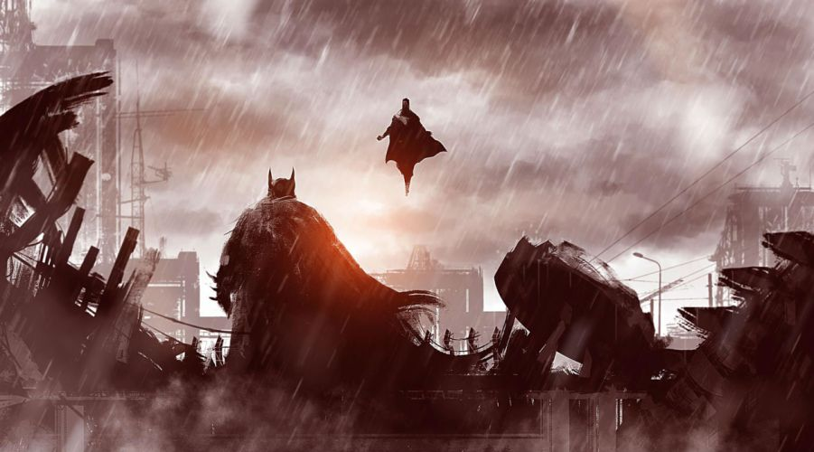 BATMAN-v-SUPERMAN adventure action batman superman dawn justice wallpaper