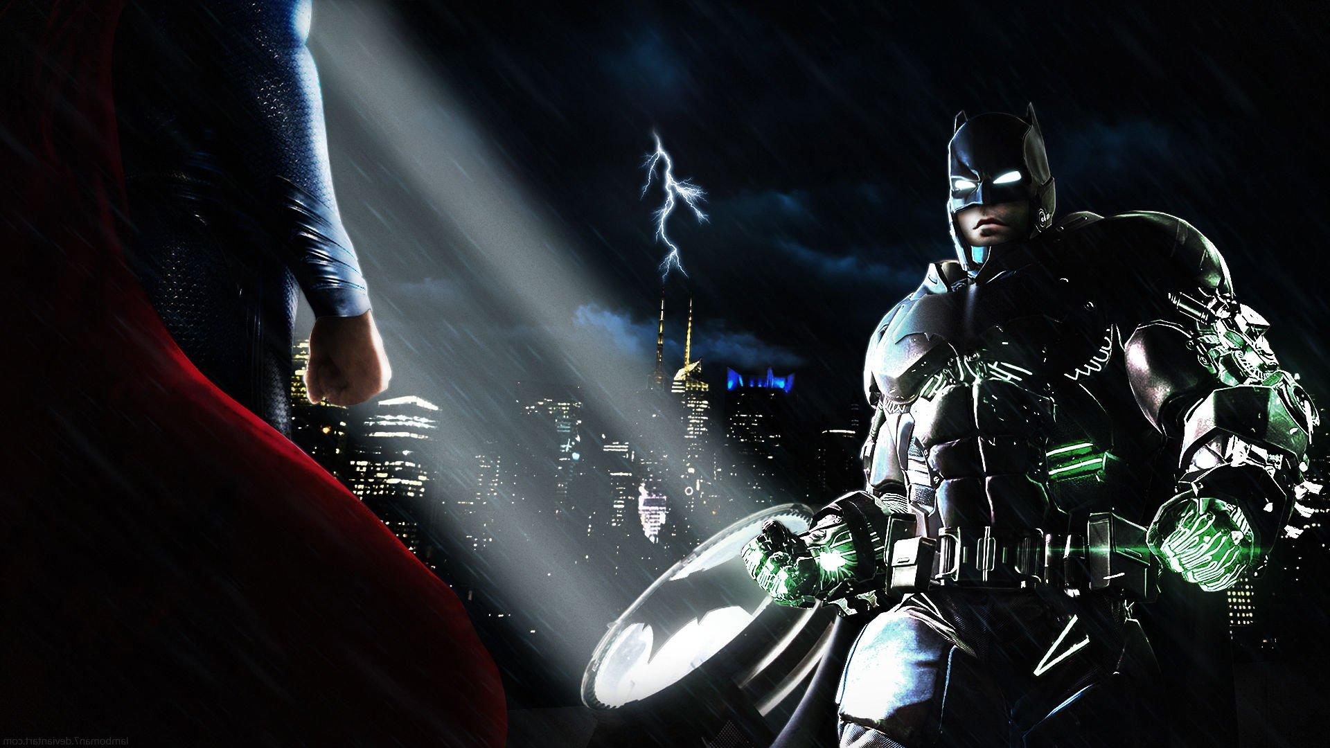BATMAN V SUPERMAN Adventure Action Batman Superman Dawn Justice Wallpaper