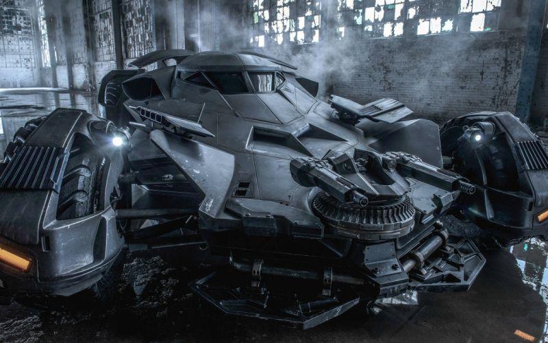 BATMAN-v-SUPERMAN adventure action batman superman dawn justice batmobile wallpaper