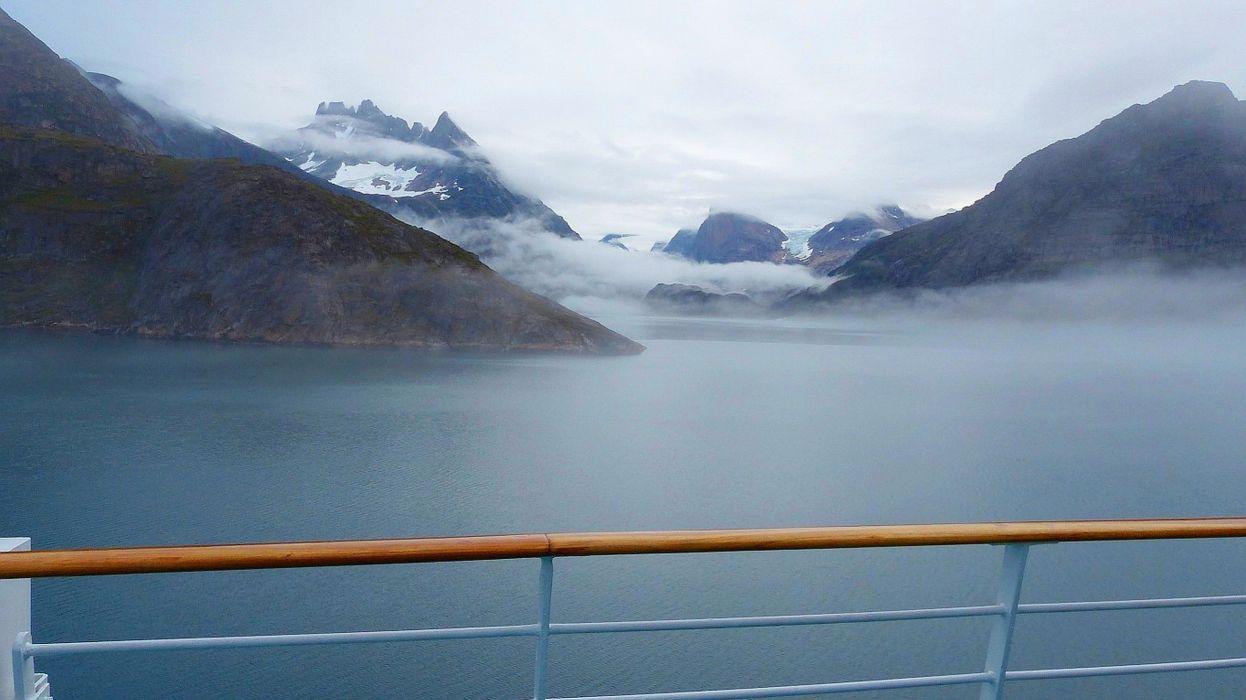 Greenland PrinceChristianSound Prince Christian Sound fog wallpaper