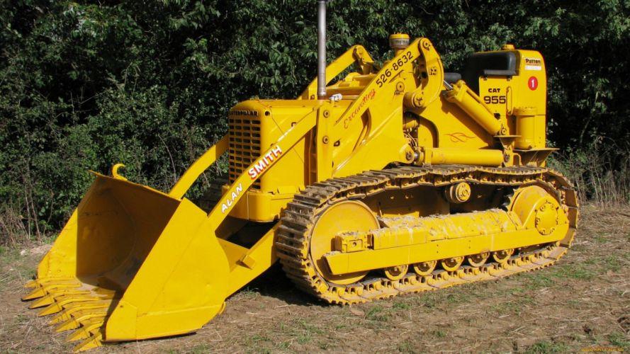 dozer bulldozer machine big wallpaper