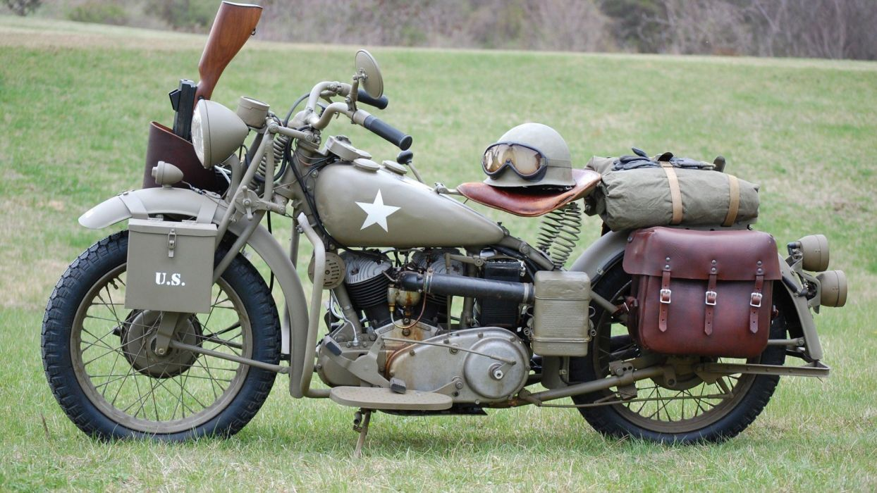 military motorcycle wallpaper