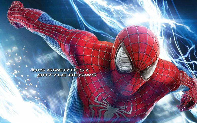 Andrew Garfield New Spider-Man High Voltage wallpaper