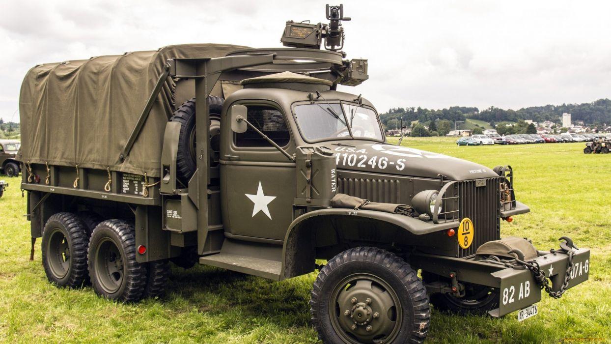 truck military army vehicle praga v3s wallpaper