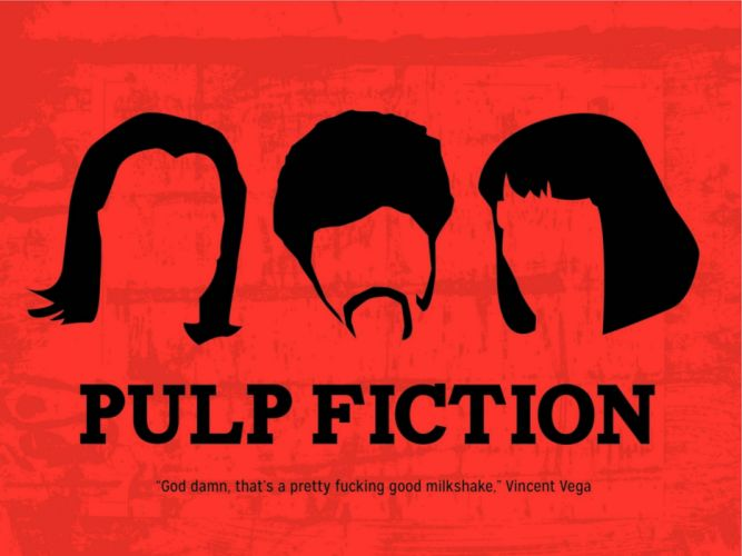 PULP FICTION crime thriller drama comedy sadic wallpaper