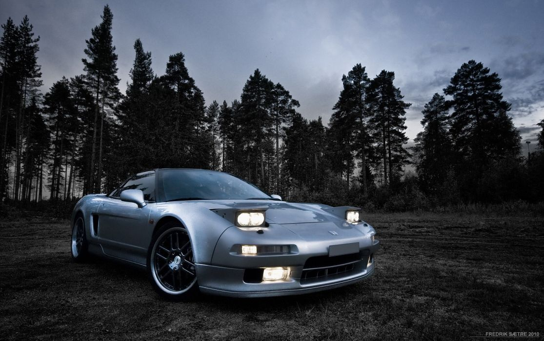 acura-nsx honda-nsx coupe tuning veilside supercars cars japan body kit wallpaper