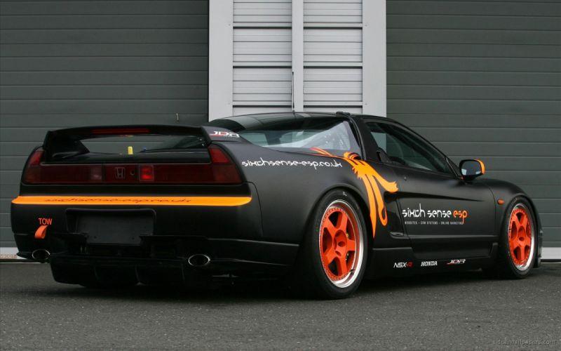 acura-nsx honda-nsx coupe tuning veilside supercars cars japan body kit wallpaper