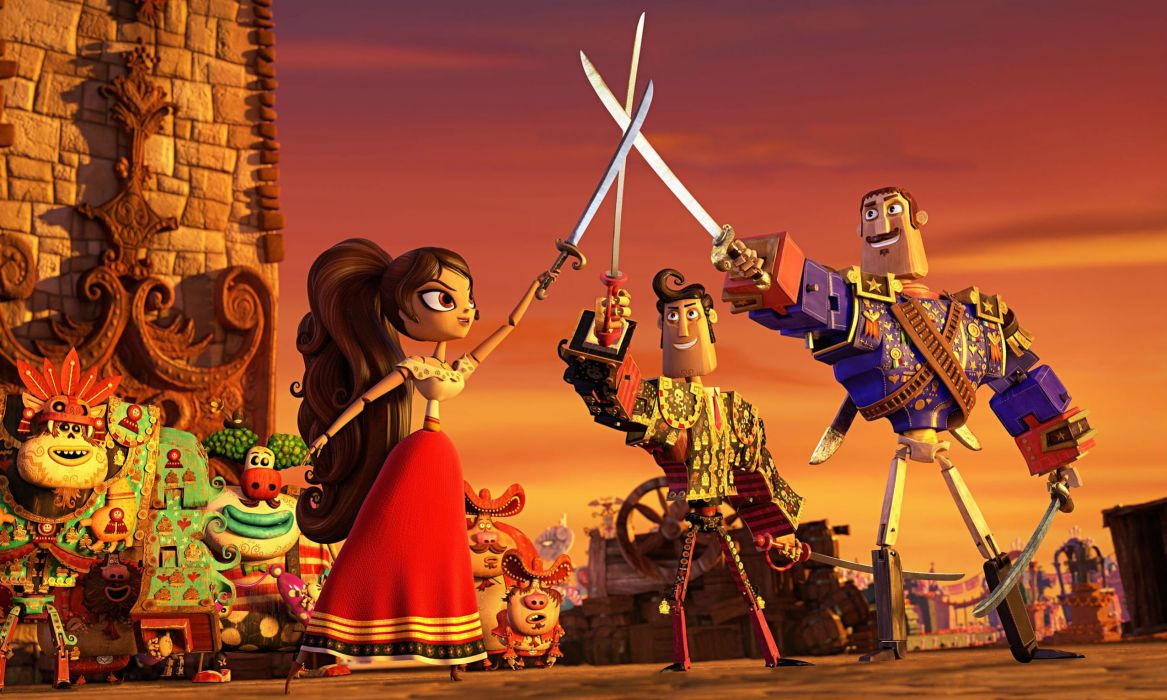 BOOK-OF-LIFE-2014 animation adventure comedy book life 2014 musical family wallpaper