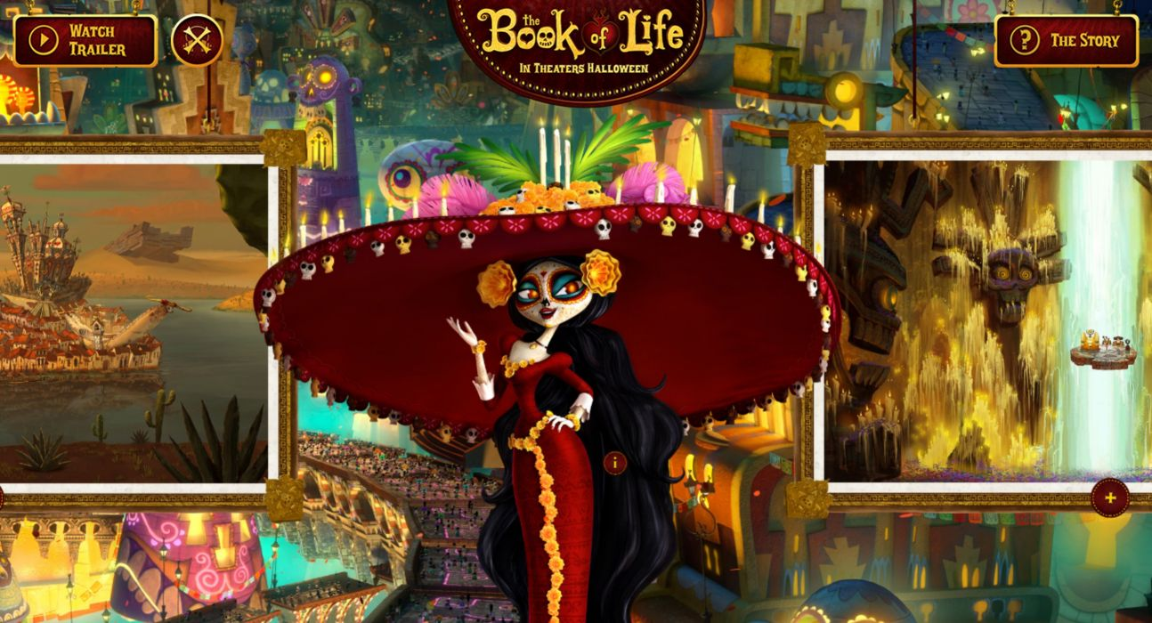 Book Of Life 2014 Animation Adventure Comedy Book Life 2014