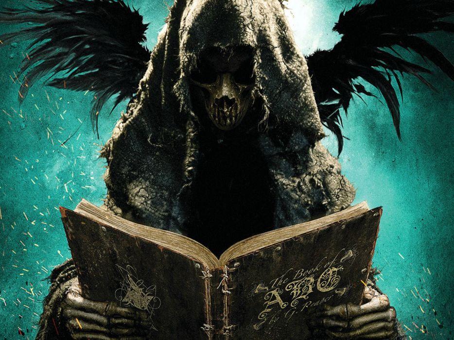 ABCs OF DEATH comedy horror dark anthology death evil reaper skull wallpaper