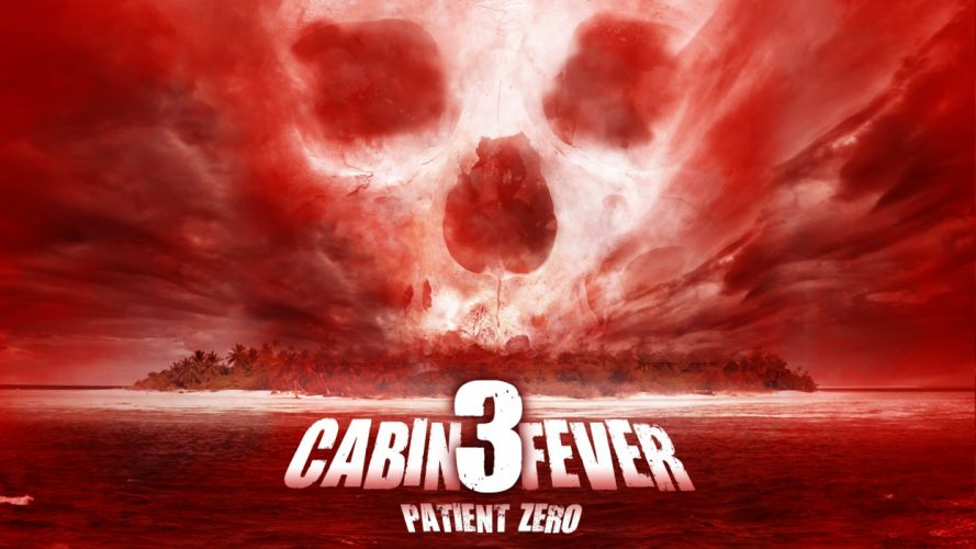 CABIN FEVER horror dark comedy skull wallpaper