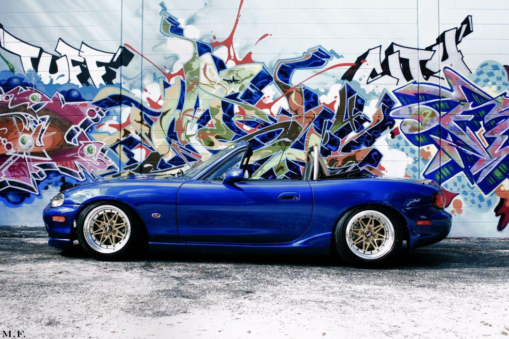 mazda-miata mazda-MX5 coupe roadster japan tuning cabriolet cars wallpaper