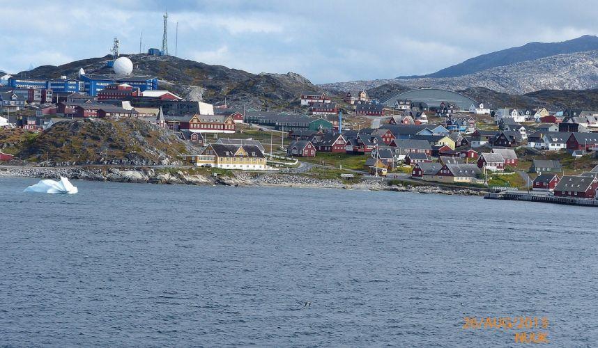 Greenland Nuuk Capital Inuit wallpaper