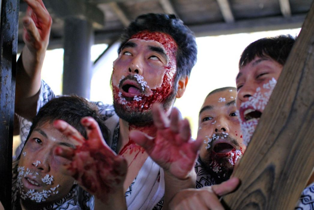 DEAD SUSHI horror action comedy martial wallpaper