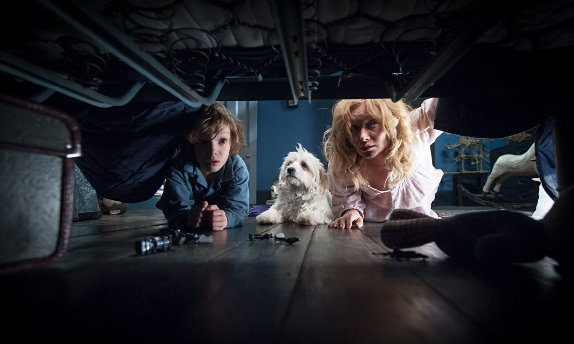 THE BABADOOK drama horror thriller wallpaper
