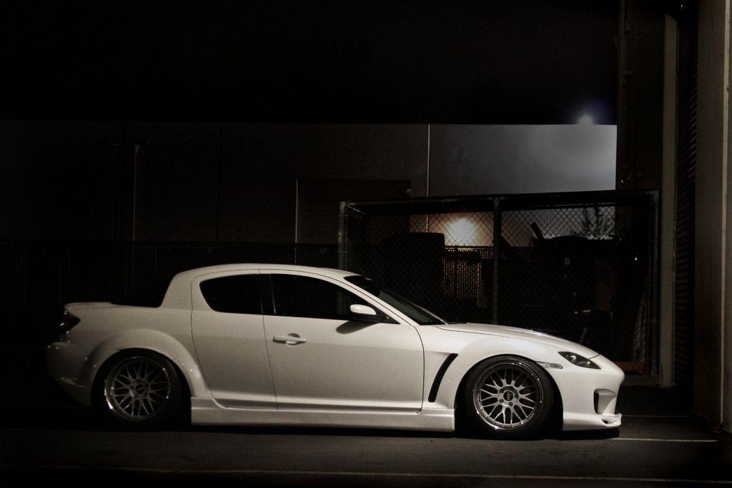 mazda-RX8 coupe tuning japan body kit cars wallpaper