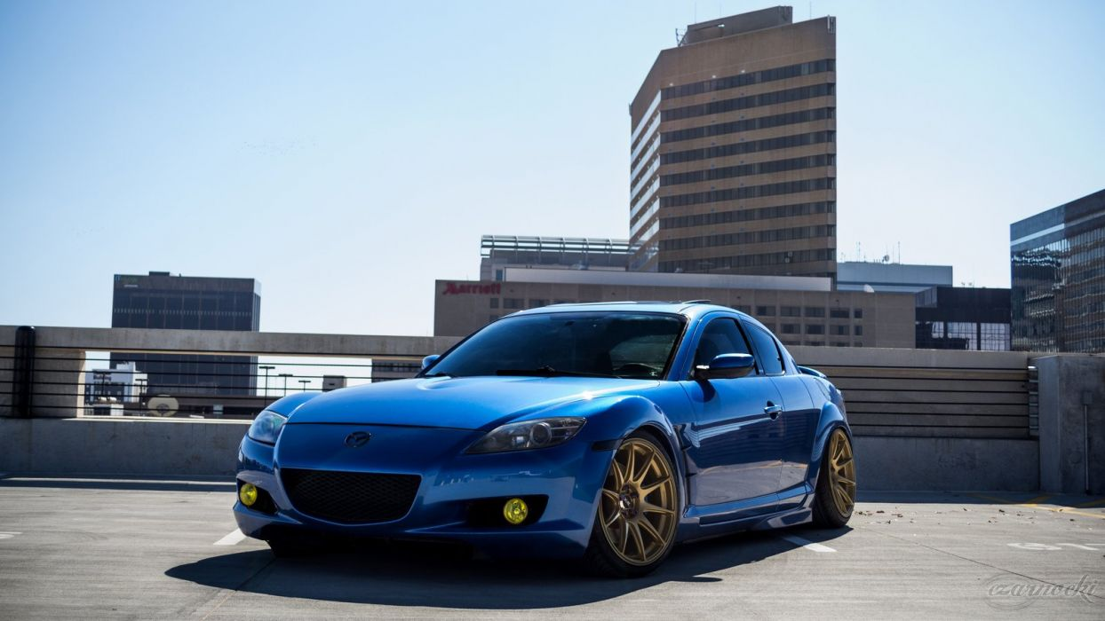 Mazda Rx8 Coupe Tuning Japan Body Kit Cars Wallpaper 1600x900
