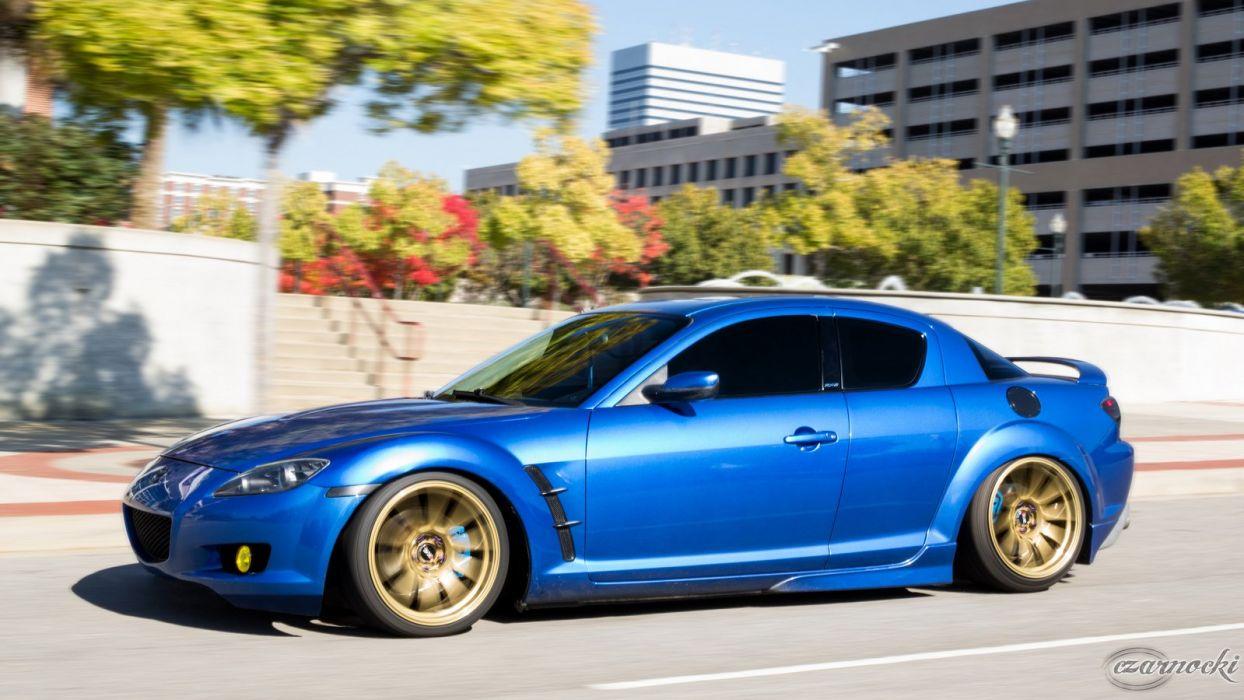 Mazda Rx8 Tuning >> Mazda-RX8 coupe tuning japan body kit cars wallpaper | 1600x900 | 498748 | WallpaperUP