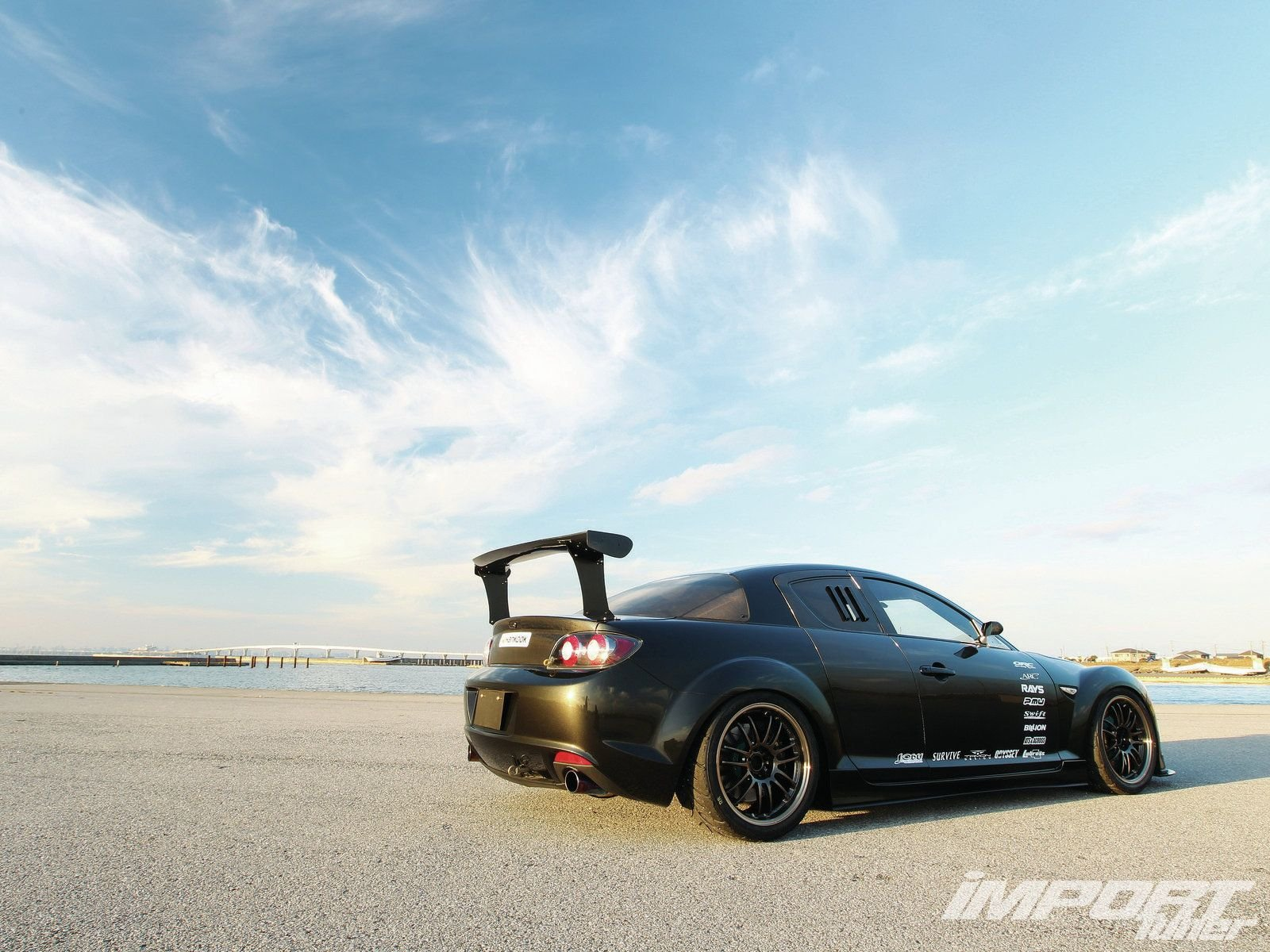 mazda rx8 coupe tuning japan body kit cars wallpaper 1600x1200 498783 wallpaperup. Black Bedroom Furniture Sets. Home Design Ideas